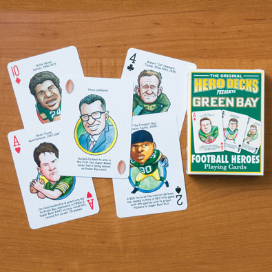 Green Bay Packers - Football Heroes Playing Cards