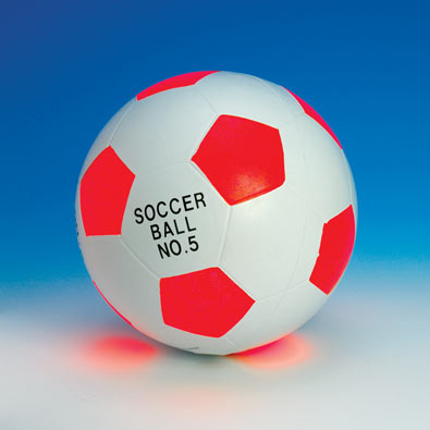 LIGHTED SPORTS BALLS - SOCCER
