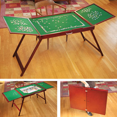 Fold-And-Go Wooden Jigsaw Table®