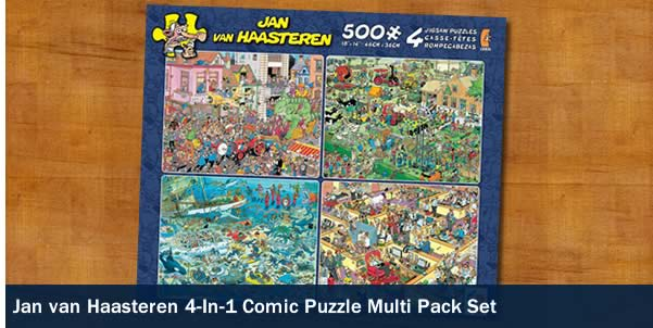 JAN VAN HAASTEREN 4 IN 1 MULTI PACK SET