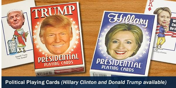 Political Playing Cards