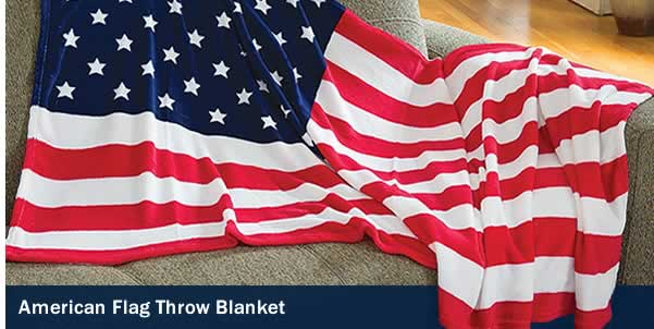 Flag Throw Blanket