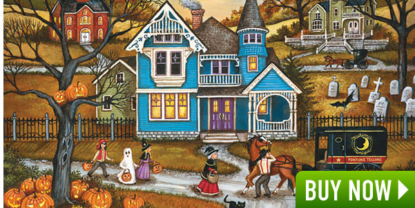 Spooked 500 Piece Jigsaw Puzzle