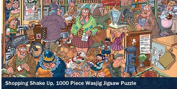 Shopping Shake Up Wasjig 1000 Piece Jigsaw Puzzle