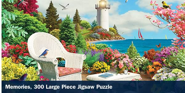 Memories 300 Large Piece Jigsaw Puzzle