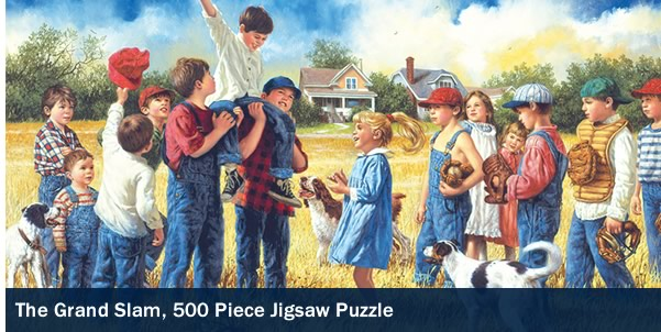 The Grand Slam 500 Piece Jigsaw Puzzle