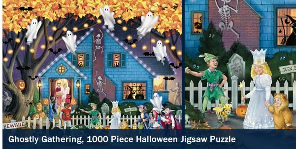 Ghostly Gathering 1000 Piece Jigsaw Puzzle