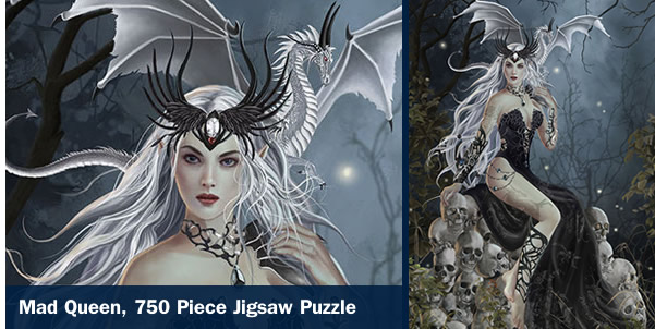 Mad Queen 750 Piece Jigsaw Puzzle