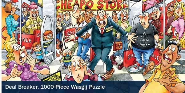 Deal Breaker 1000 Piece Wasgij Puzzle