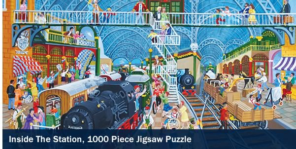 Inside the Station 1000 Piece Jigsaw Puzzle