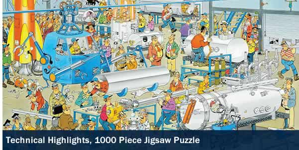 Technical Highlights 1000 Piece Jigsaw Puzzle