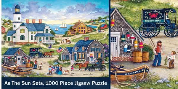 As the Sun Sets 1000 Piece Jigsaw Puzzle
