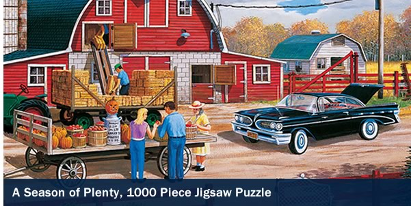 A Season of Plenty 1000 Piece Jigsaw Puzzle